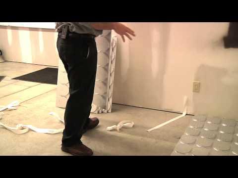 Radiant Green Flooring: Option #1
