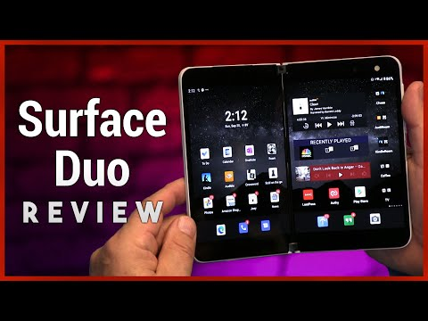 Surface Duo Review - Microsoft's 'Not Ready for Prime Time' Dual-Screen Device