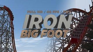 nolimits 2 iron bigfoot rmc coaster pov full hd 60fps