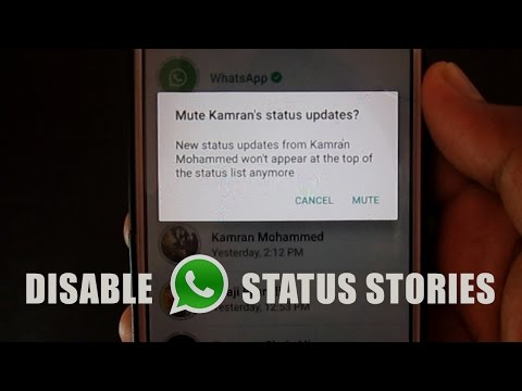 WhatsApp Status Stories: How To Disable It?