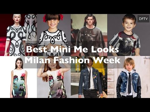 Best Kids Fashion - Milan Fashion Week - Top 10  Looks