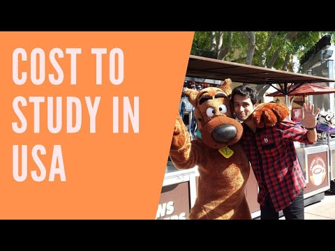 How much it cost to Study abroad and how to pay for your studies in USA