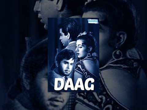 Daag [1952] Dilip Kumar - Kanhaiya Lal - Bollywood Full Movie - Hindi Best Movie