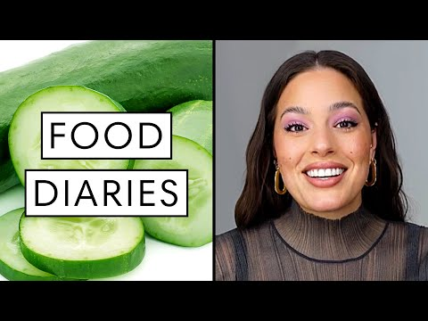 Everything Supermodel Ashley Graham Eats in a Day | Food Diaries: Bite Size | Harper's BAZAAR