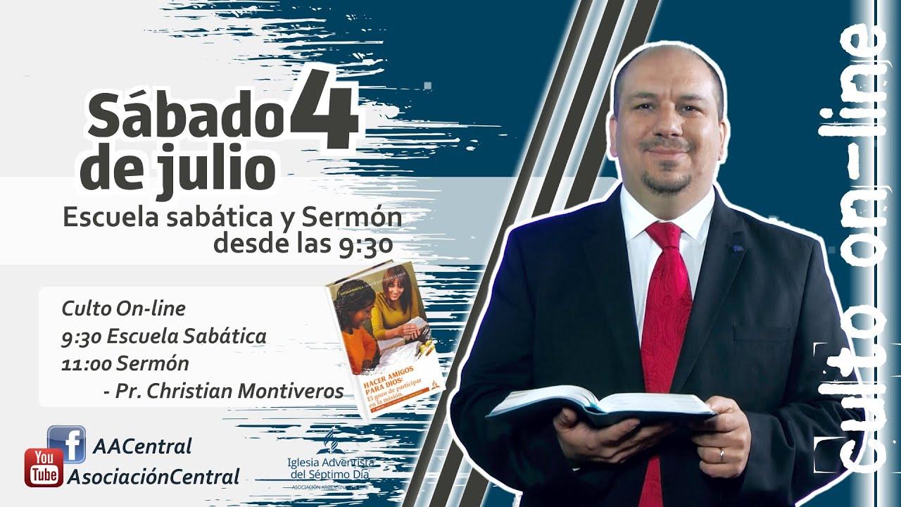 Escuela Sabática y Sermón / 4 de Julio / 9:30