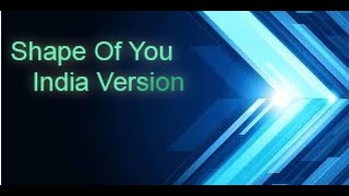 Shape Of You Carnatic Mp3 Song Download