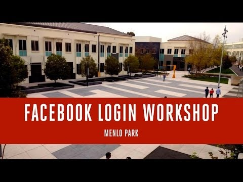 Facebook Login Workshop @ Menlo Park (June 5, 2014)