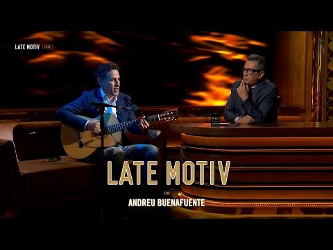 LATE MOTIV - Juan Diego Flórez. Un tenor con alma de rockero | #LateMotiv127