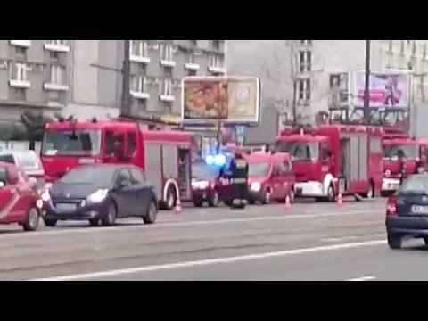 Pożar Wieżowca Q22 W Warszawie