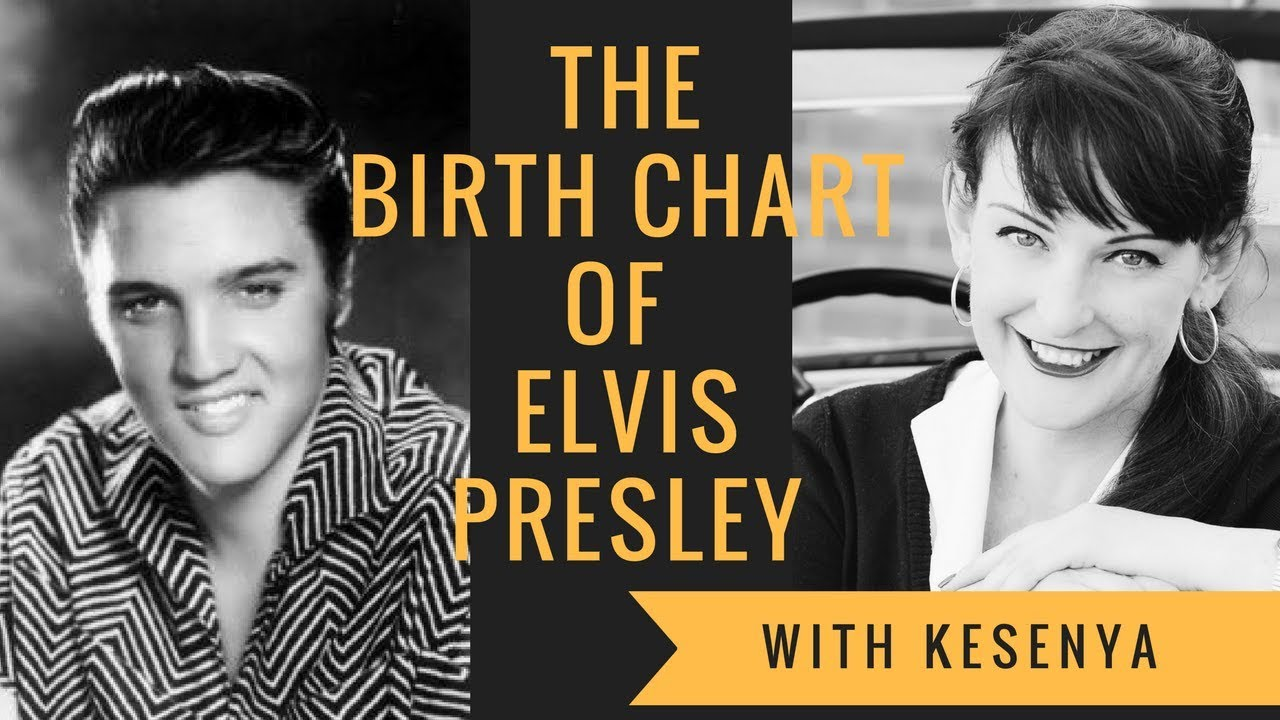 Birthchart of Elvis Presley