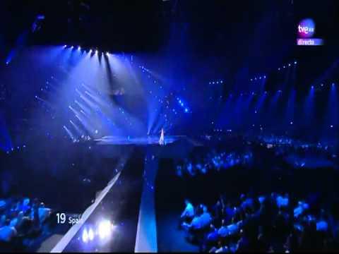 Quédate conmigo - Pastora Soler (Concurso de la canción en Europa, Eurovisión 2012)