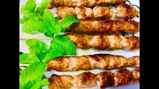 Làm nem nướng chảo vừa ngon vừa nhanh tại nhà (Vietnamese Grilled Sausage) - - Bếp Nhà Nội