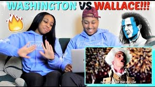 "Epic Rap Battles of History ""George Washington vs William Wallace"" REACTION!!!"