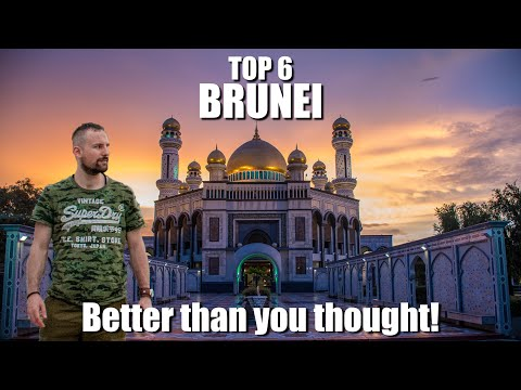 Brunei - Top 6 Things to do / Places / Best Tourist Attractions