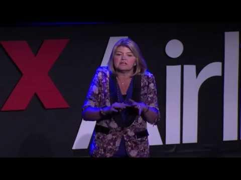 Women Rock!  Paper  Scissors | Sandy Carter | TEDxAirlie