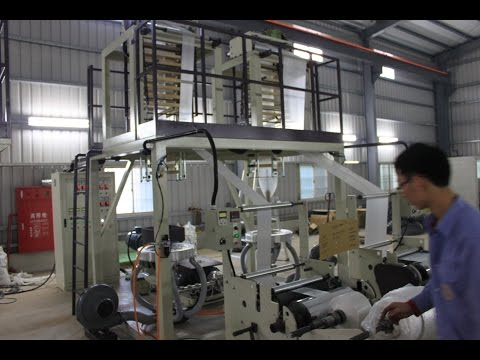 The Twin Head High Speed HDPE Blown Film Machine(CT-TH/H45) will be operated in Ghana.