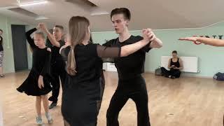 Тренировка старшей спортивной группы | Школа танца для детей и взрослых | Бобруйск