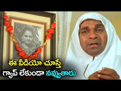 Brahmanandam Ultimate Comedy Scene | Volga Videos