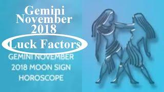 Gemini Mithun Rashi November 2018 Horoscope | Lucky Numbers, Colors...