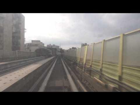 【4K前面展望】台北捷運文湖線(南港展覽館~動物園)