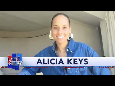 Alicia Keys Gives All Of Us Her Phone Number. Srsly, It's 917-970-2001