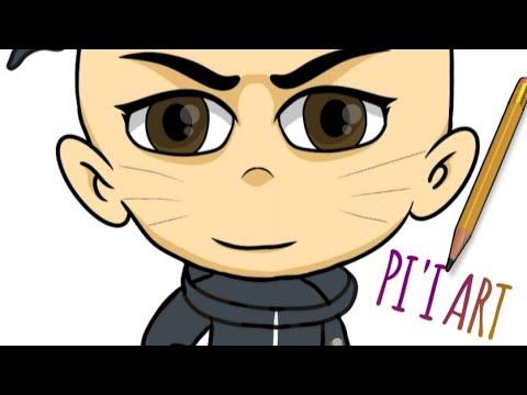 Cara Menggambar Chibi Naruto Pi I Art Channel Youtube
