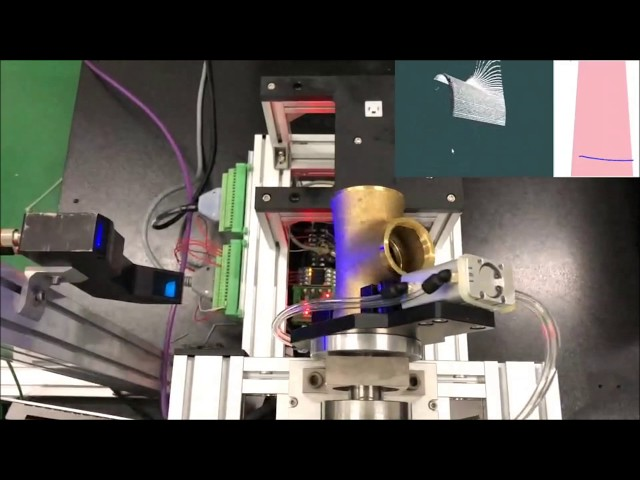 Polishing Application with QuellTech Laser Scanner and Kawasaki Robot - Solution Made by Quadrep