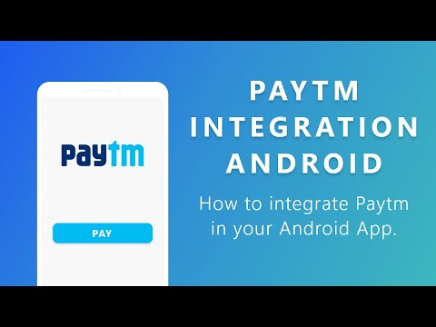 How To Integrate Paytm In You Android App | Simple And Easy Tutorial