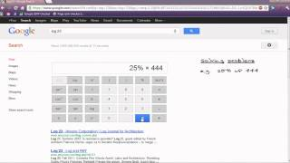 How to Use Google Scientific Calculator