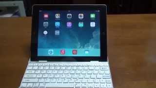 iPadキーボード リモートデスクトップアプリを使ってノートパソコンに