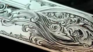 Handengraving Scrollwork, Kathryn Holton Stewart