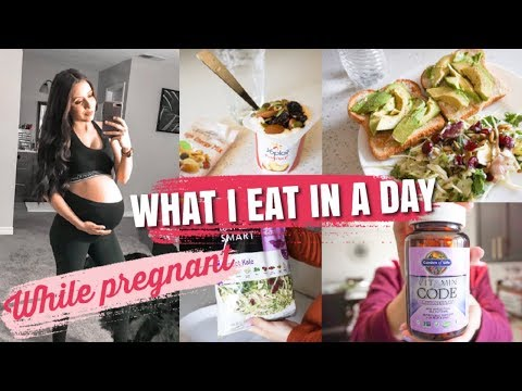 what-i-eat-in-a-day-while-pregnant-|-simple-meal-ideas-|-third-trimester