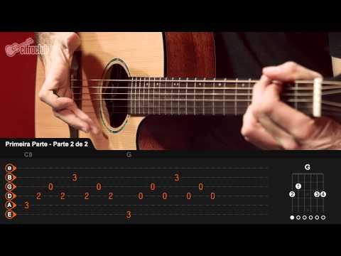 Choram As Rosas - Bruno e Marrone (aula de violão completa)