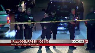 Double shooting in Elmwood Place leaves 1 in critical condition