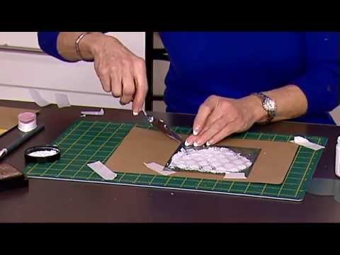 Layering Stencils with Texture Paste with Angela Johnson | Craft Academy