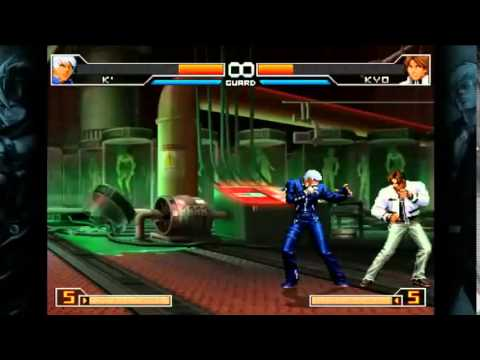 The King Of Fighters 2002 UM Steam Combos K'