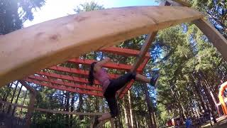Monkey Bars Terrain Racing