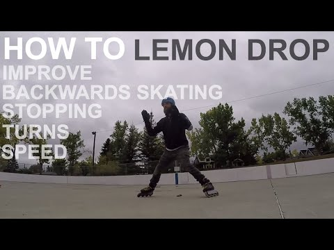 SKATING FUNDAMENTAL BUILDING BLOCK - HOW TO LEMON DROP ON INLINE SKATES