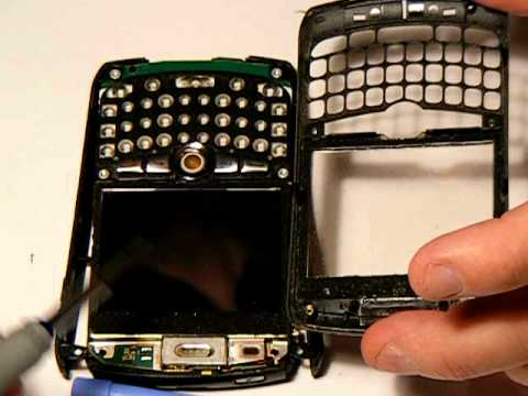 Blackberry Curve 8310 Tear down, disassembly, take apart complete.