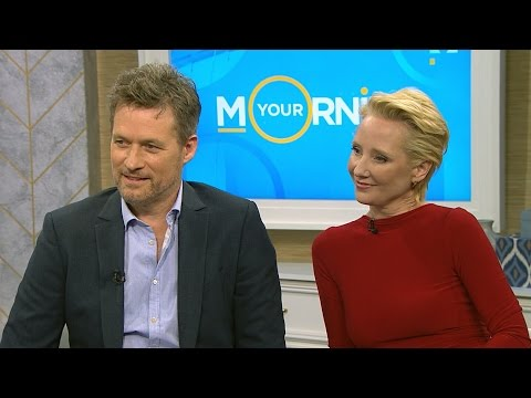 Anne Heche and James Tupper talk 'Aftermath'