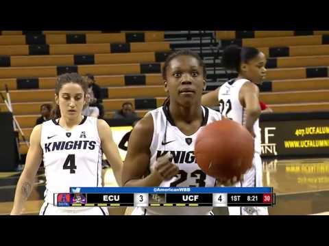 Women's Basketball: East Carolina at UCF