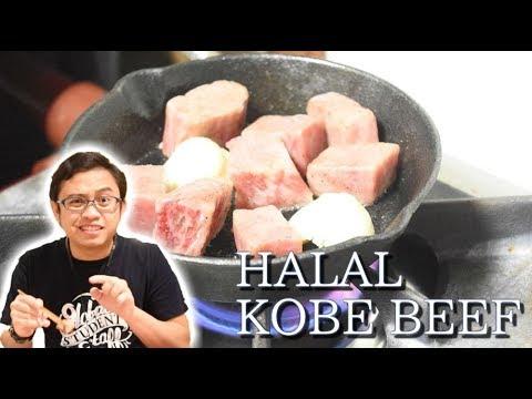 Halal Kobe Beef in Osaka (Sante Cafe)