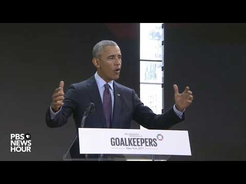 WATCH: Obama delivers speech and holds Q&A at Gates Foundation