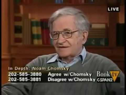 Noam Chomsky  - C SPAN Interview