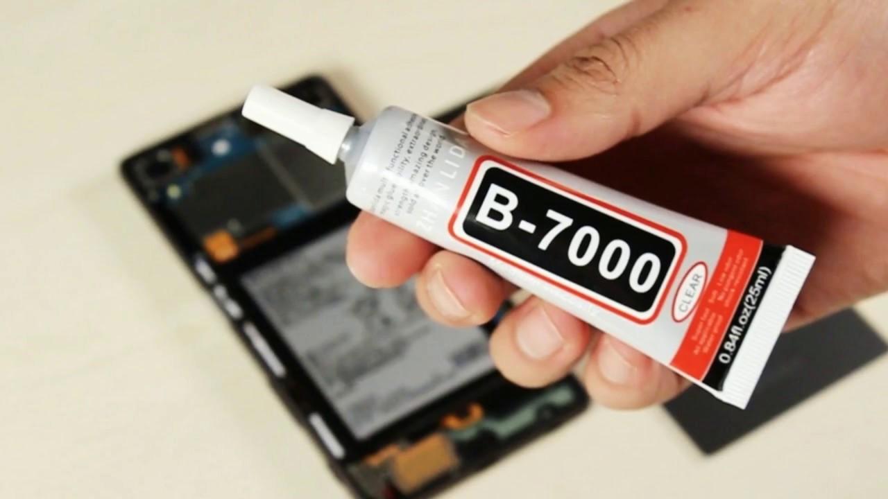 B7000 Huge 60ml ADHESIVE GLUE Phone (unboxing)