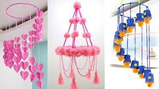 5 Handmade Jhumar Idea from Waste Materials | Sonali's Creations
