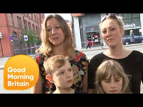 Family Who Escaped Manchester Bombing Describe Panic and Chaos | Good Morning Britain