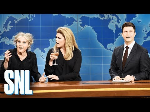 Weekend Update: Brigitte Bardot and Catherine Deneuve  SNL