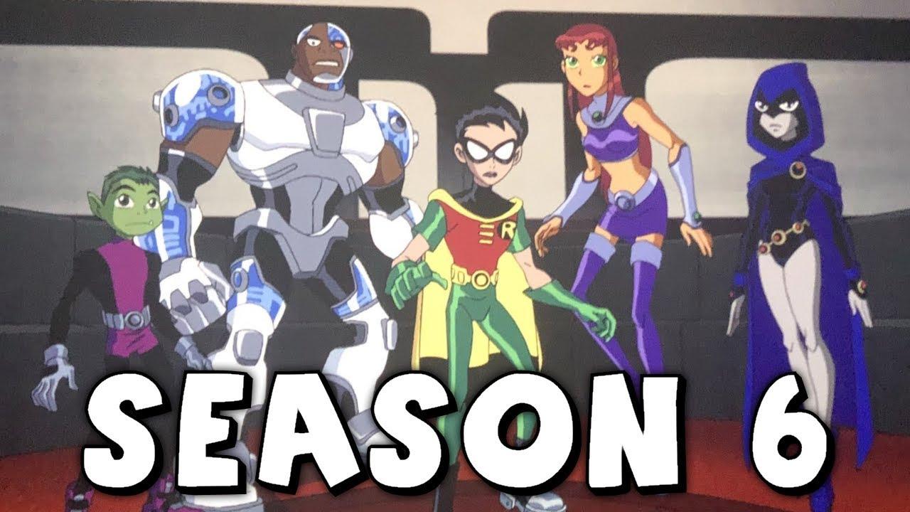 Original Teen Titans Season 6 Confirmed In Ttg Movies -6913