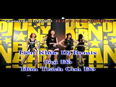 (Karaoke Full HD) Liên Khúc Gọi Đò - Hờn Trách Con Đò - Éo Le Cuộc Tình